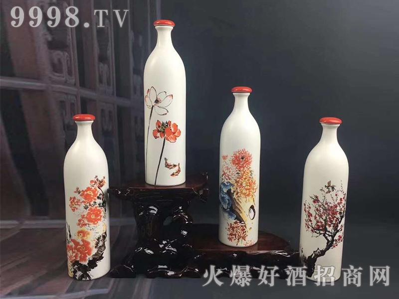 陶坛酒-梅兰竹菊
