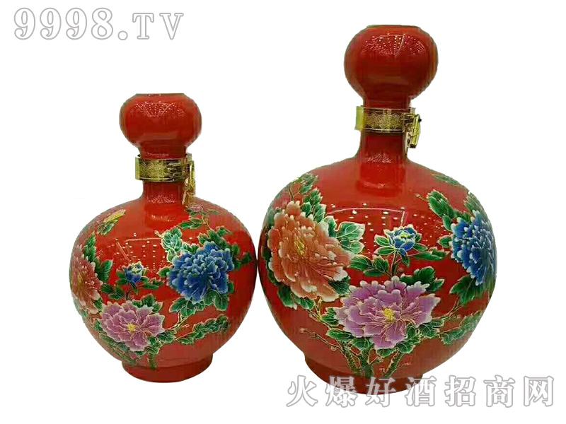 陶坛酒-红牡丹