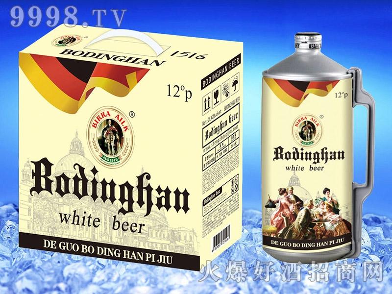 博丁罕白啤2L
