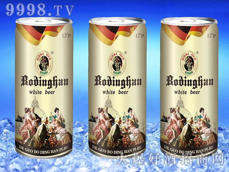 博丁罕白啤1L