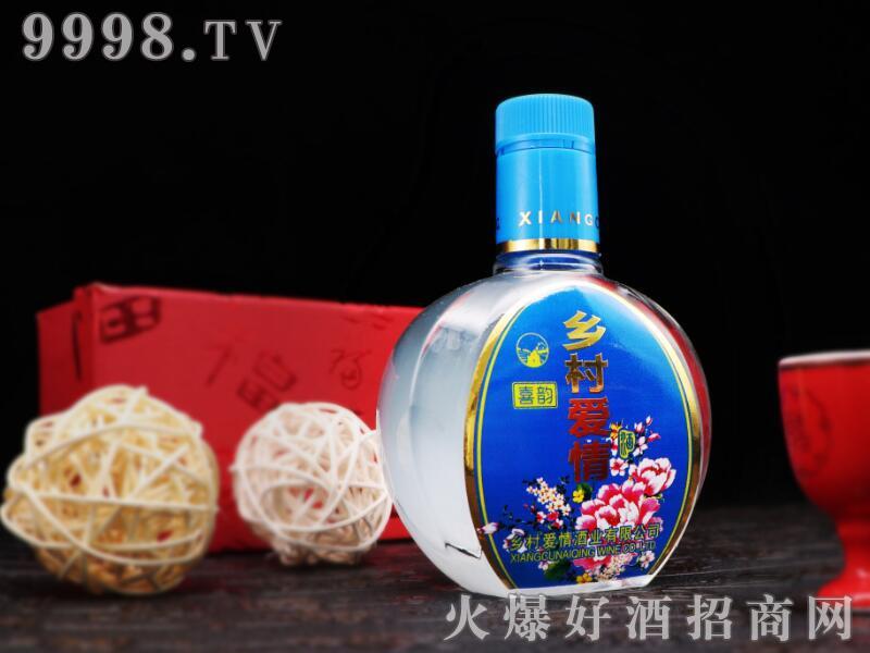 招商产品:乡村爱情酒-喜韵(蓝)%>&#13招商公司:北京乡村爱情鸿运酒业有限公司