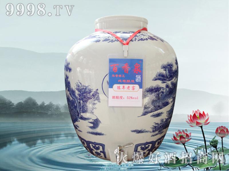 百香泉酒-陈年老窖52°
