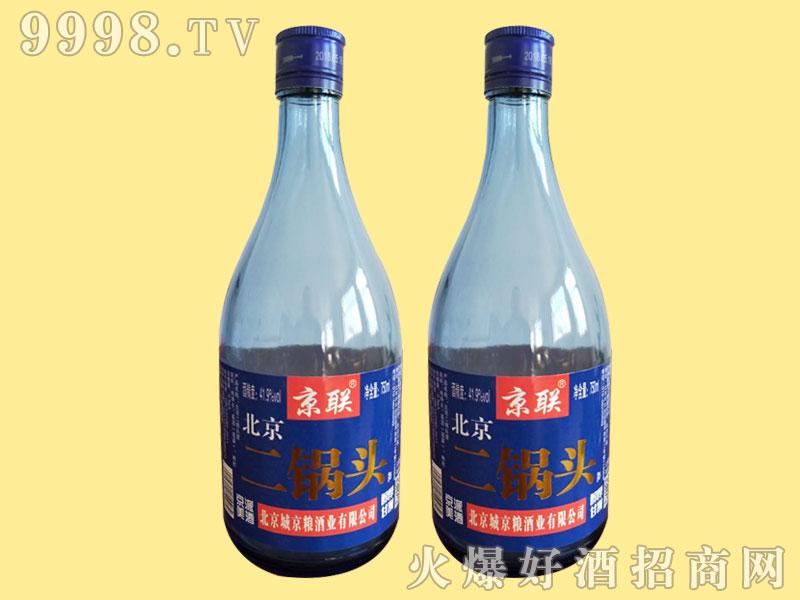 京联二锅头 41.9°750ml蓝瓶