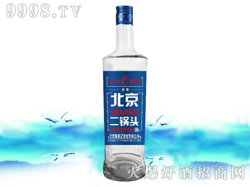 程府记二锅头酒蓝柔500ml×12瓶