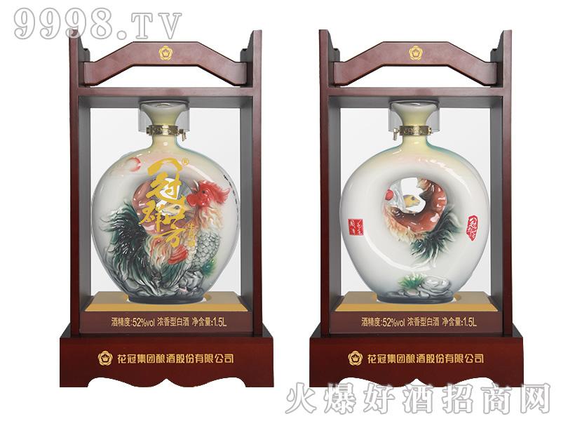 冠群芳十二生肖酒(鸡)1500ml