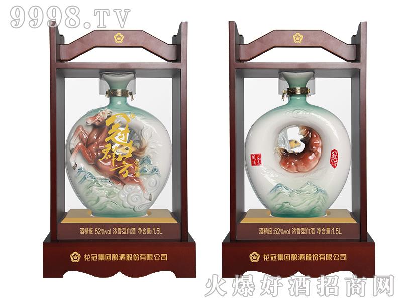 冠群芳十二生肖酒(马)1500ml