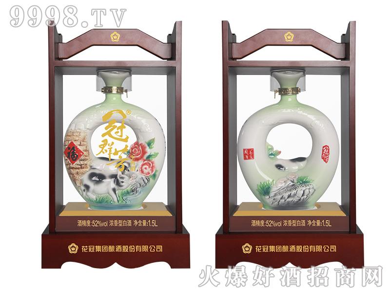 冠群芳十二生肖酒(猪)1500ml