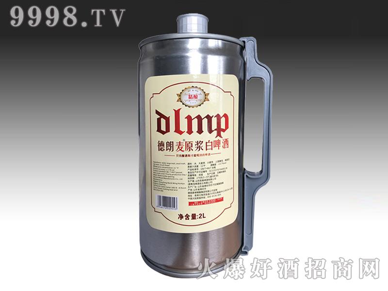 德郎麦原浆白啤酒2L