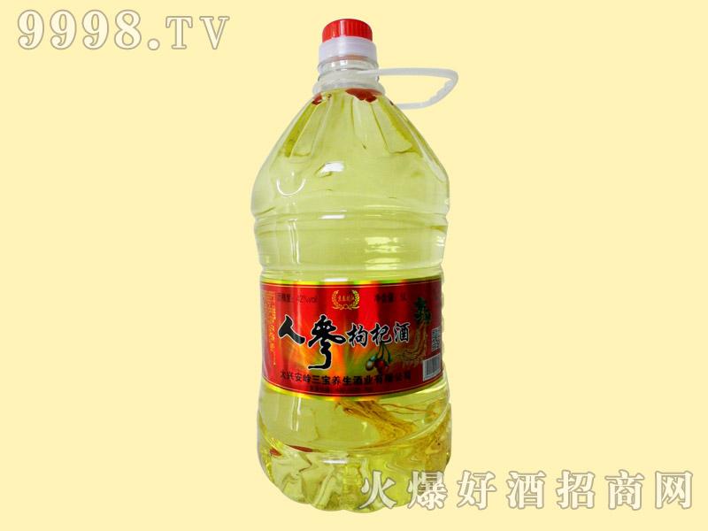 京泰龙江人参枸杞酒42°5L-保健酒招商信息