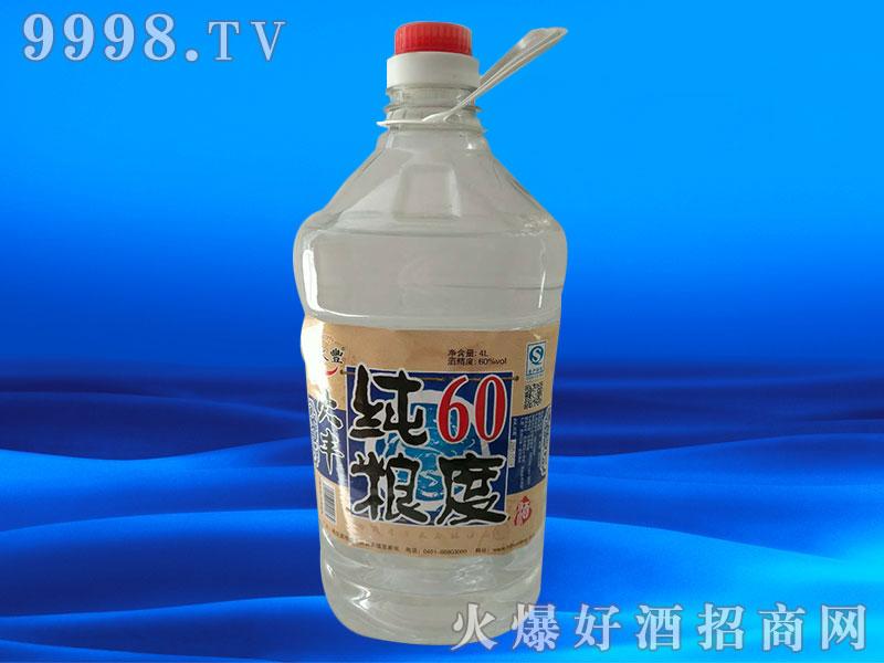 火丰酒纯粮60度4L