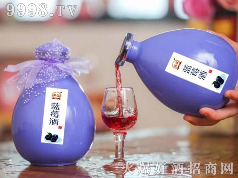 添赖蓝莓酒