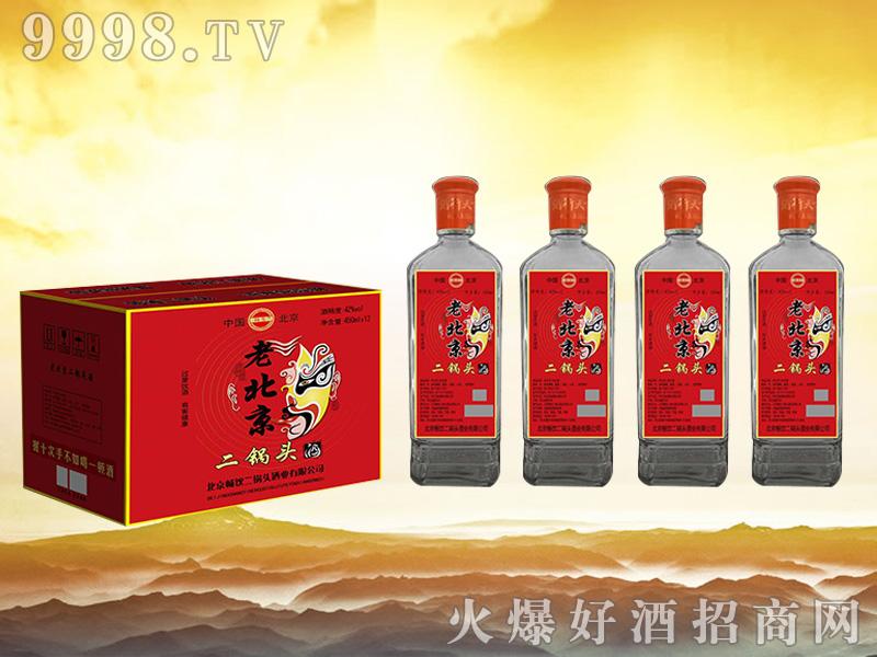 畅饮老北京二锅头酒 450mlx12红标