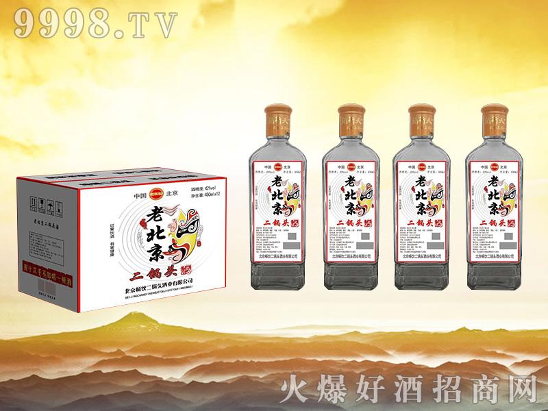 畅饮老北京二锅头酒 450mlx12白标