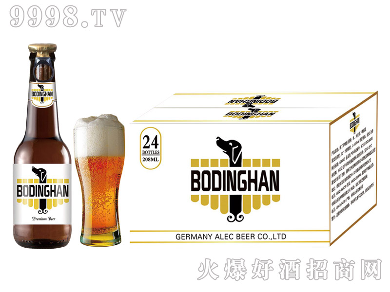 博丁罕啤酒 208ml单身狗-啤酒招商信息
