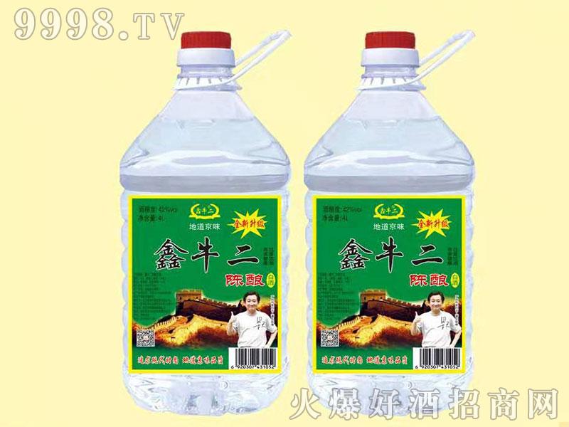 新鑫牛二陈酿酒桶装 4L