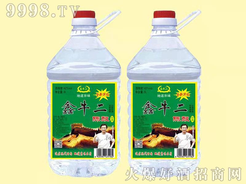 新鑫牛二陈酿酒桶装 5L