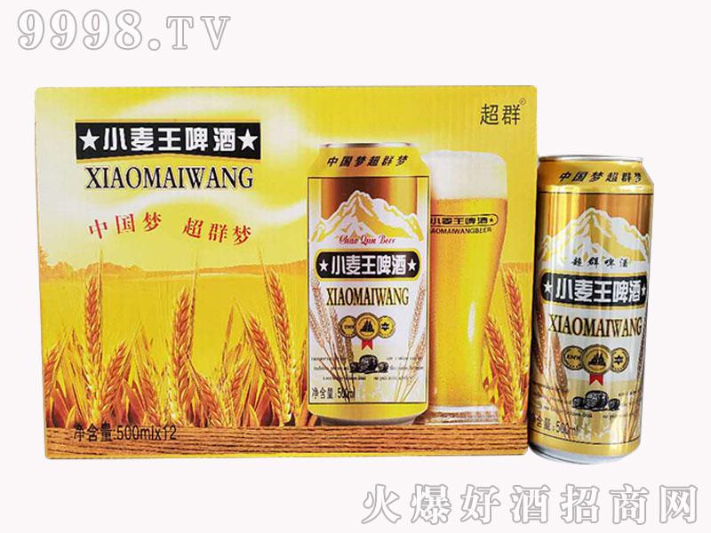 超群小麦王啤酒 500mlx12