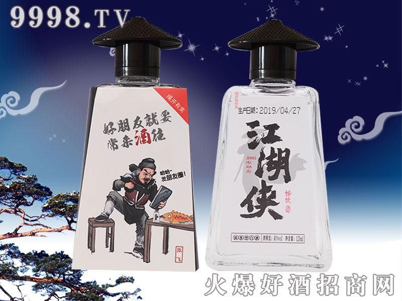 江湖侠张飞浓香型白酒