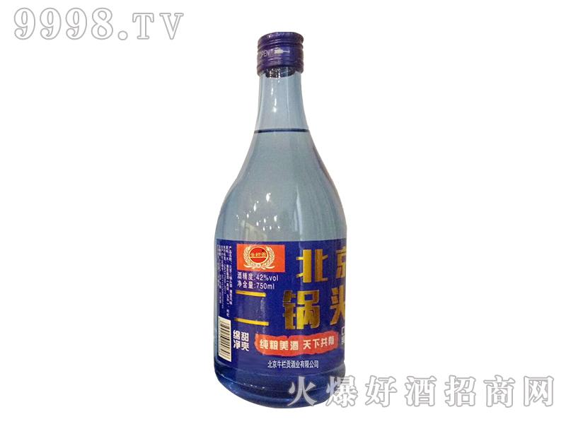 生栏贡蓝瓶北京二锅头750ml