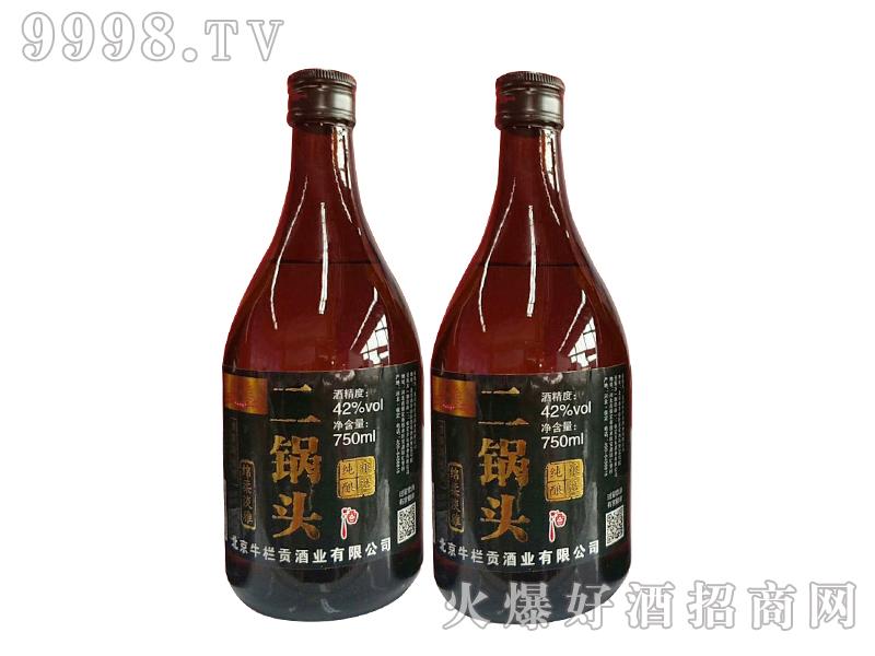 生栏贡褐瓶北京二锅头750ml