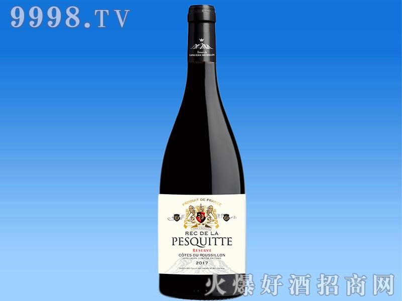 法国泊斯狄鲁西荣丘红葡萄酒