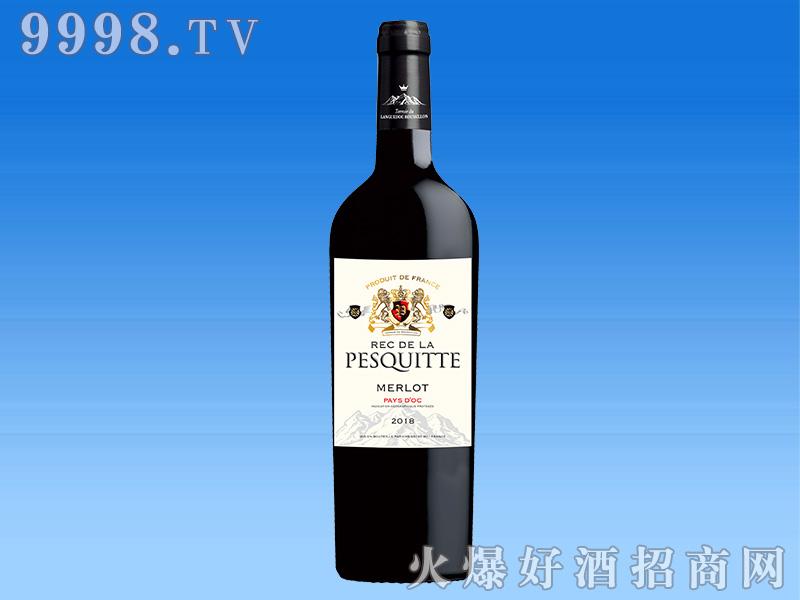 法国泊斯狄奥克梅洛红葡萄酒