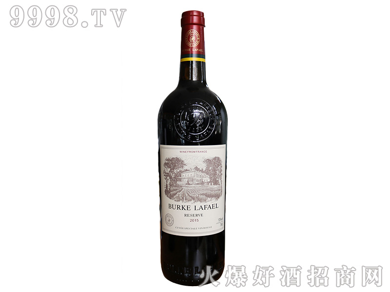 伯克拉斐2015干红葡萄酒