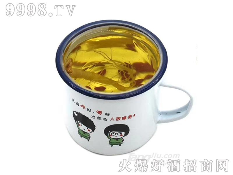 茶缸人参酒