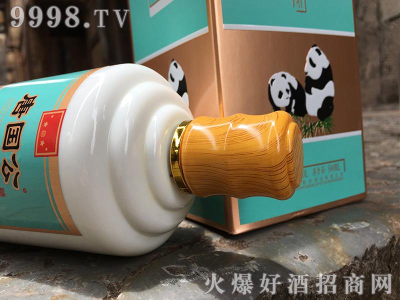 唐国公熊猫酒瓶盖