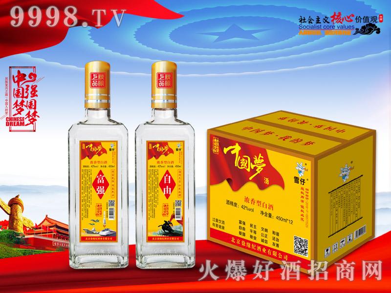 中国梦酒42°450ml×12瓶