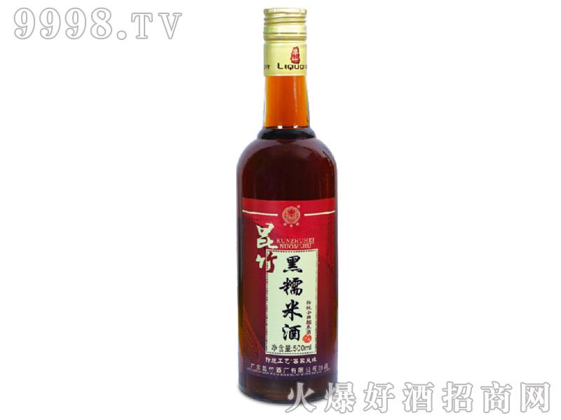 黑糯米酒19度500ml