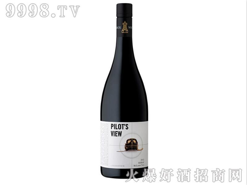 2012伍斯塔克飞行员之眼西拉葡萄酒