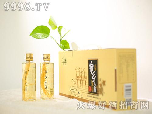参林王参乡人家酒42°180ml礼盒