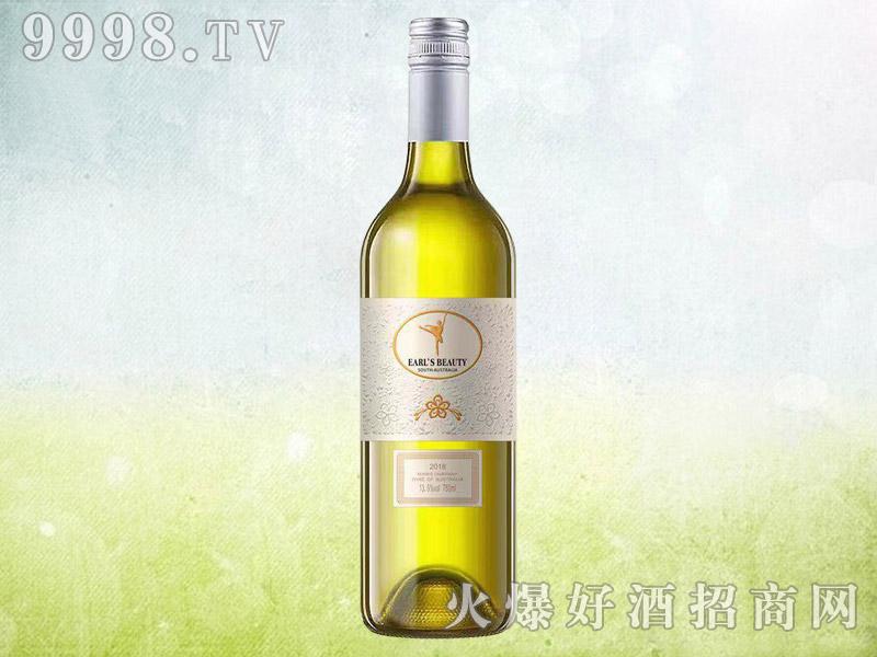 伯爵红颜珍藏霞多丽干白葡萄酒