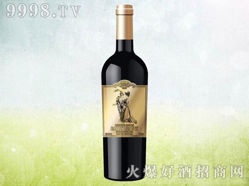 伯爵红颜珍藏西拉干红葡萄酒