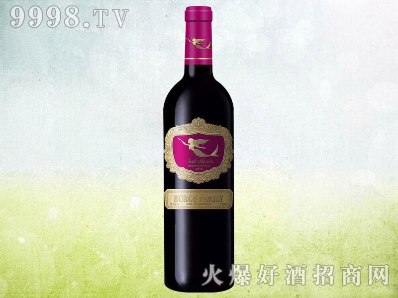 伯格家族美人鱼干红葡萄酒