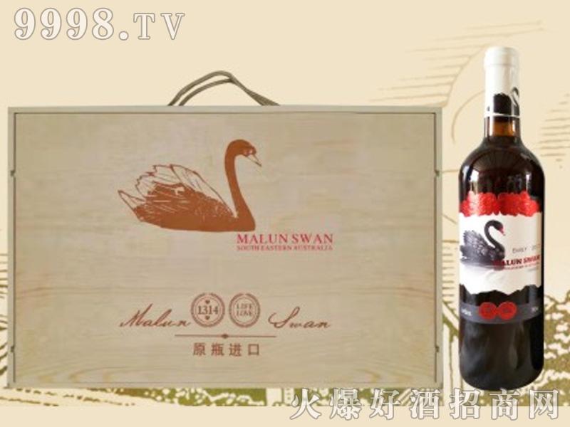 天鹅葡萄酒1314木箱1×6