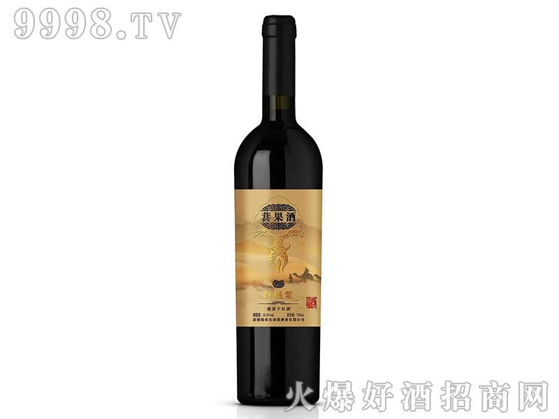 桑葚干红酒