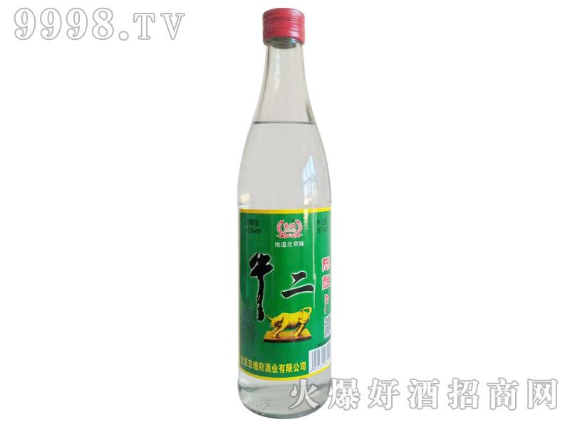 京焀牛二陈酿酒500ml