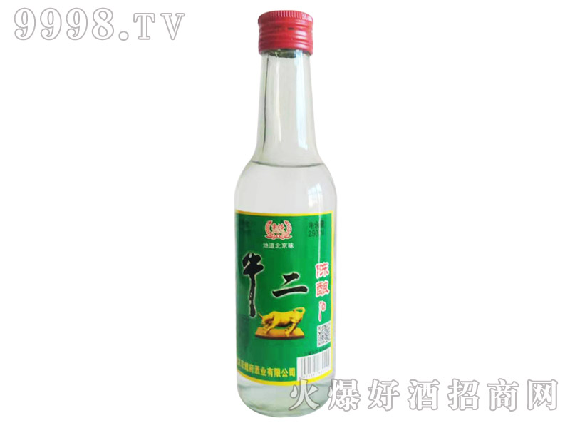 京焀牛二陈酿酒250ml