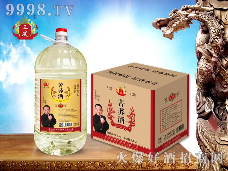 三发苦荞露酒10L