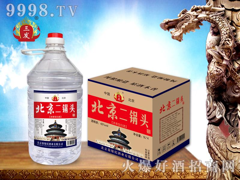 三发北京二锅头桶酒5L