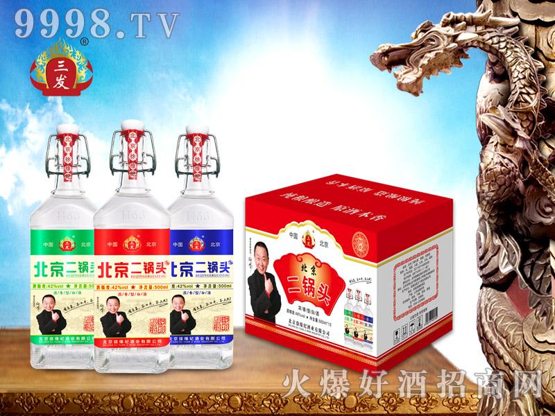 三发北京二锅头酒42°52°