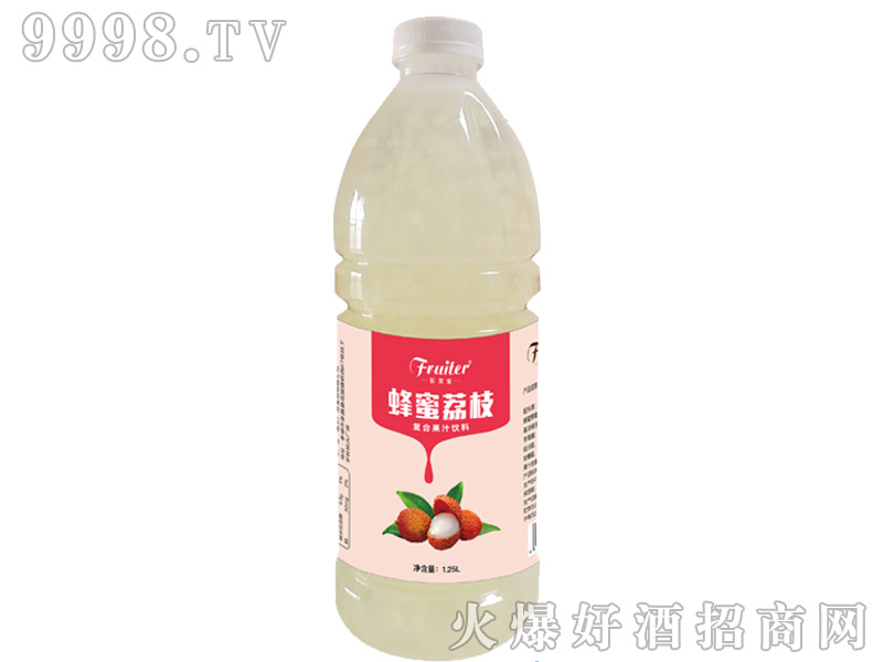 蜂蜜荔枝果汁饮料