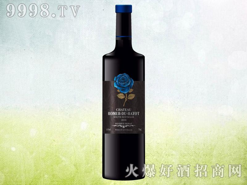 罗曼来酒庄蓝玫瑰干红葡萄酒 澳大利亚原酒进口 16.5度750ml