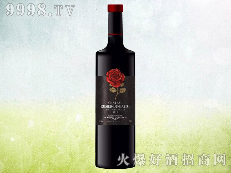 罗曼来酒庄红玫瑰干红葡萄酒 澳大利亚原酒进口 16.5度750ml