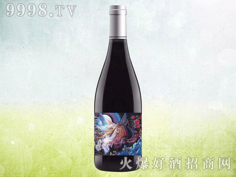 伯爵红颜女神干红葡萄酒 澳大利亚原酒进口 16.5度750ml