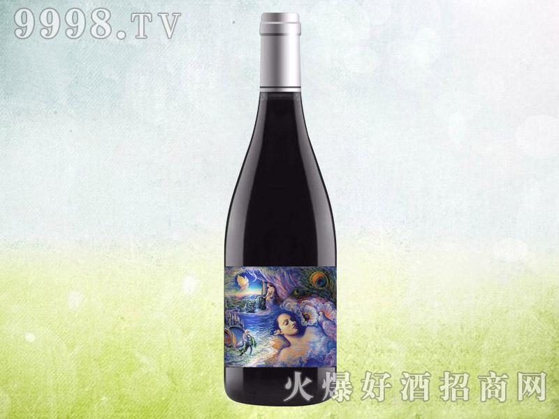 伯爵红颜爱神干红葡萄酒 澳大利亚原酒进口 16.5度750ml