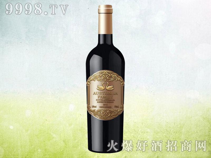 澳族酒庄天鹅干红葡萄酒 澳大利亚原酒进口 15.5度750ml