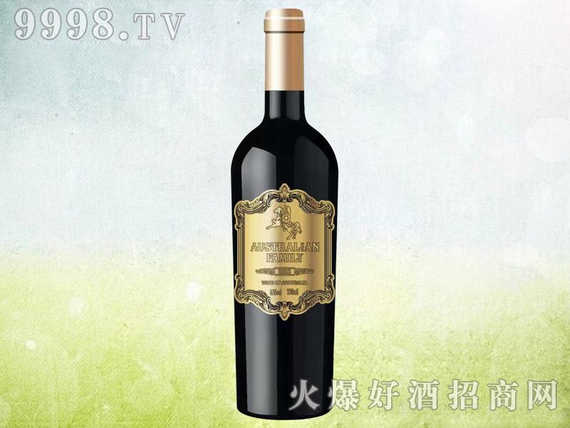 澳族酒庄骑士干红葡萄酒 澳大利亚原酒进口 15.5度750ml